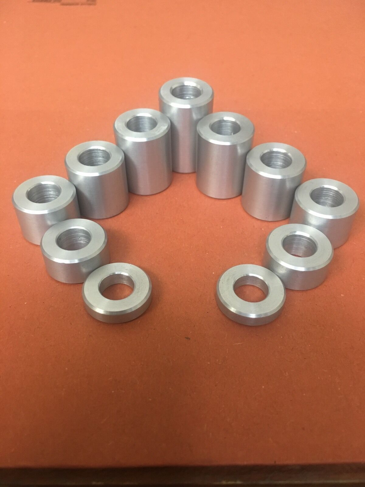 17MM Dia Aluminum Stand Off Spacers Collar Bonnet Raisers Bushes with M5 Hole